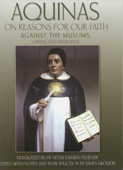Image of St. Thomas Aquinas venerated at Our Ladys Chapel, New Bedford, MA